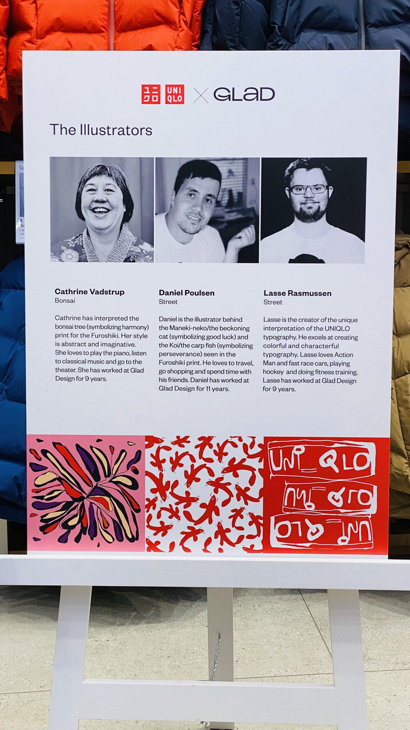 Illustratorerne bag Uniqlo-designet